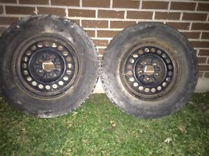 215/70 R15 Tires with rims