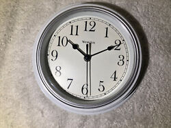 Westclox 46994W Simplicity Wall Clock White 1 Duracell Battery Included
