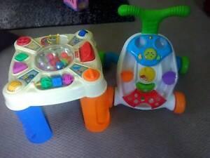 Baby walker/ activity table