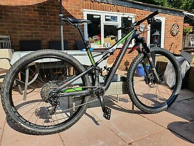 Specialized Camber 29 FSR, COMP, Carbon 2016 Mountain Bike full suspension black
