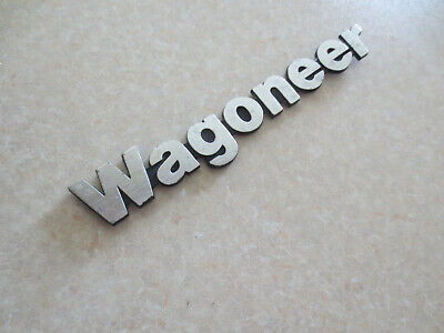 Original Jeep Wagoneer car badge / emblem