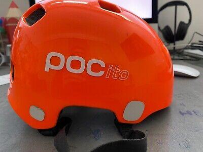 Poc Kids bambini casco mtb Pocito helmet orange arancione bici bicicletta bike
