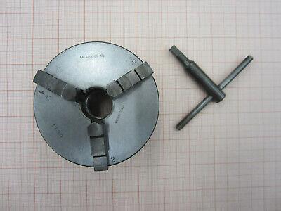 4 Scroll Chuck From Vintage 6 Craftsman 101 Metal Lathe Atlas 618 - 1 10 Tpi
