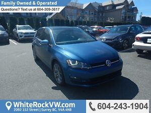 2015 Volkswagen Golf 2.0 TDI Highline Leather Upholstery, Hea...