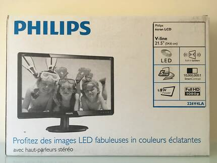 "Philips V Line 21.5"" Full HD 1920x1080 Monitor"