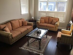 French Sofa set and Coffee table