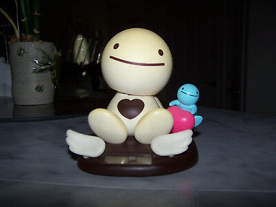 RARE!!! 2002 Tomy NoHoHon Solar Bobble Head Brown Heart Figure Body
