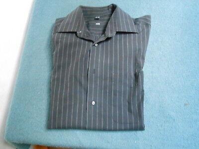 Herrenhemd - grau - TCM - Größe 39/40 - Hemd - Herren - langer Arm - Herren-langer Arm