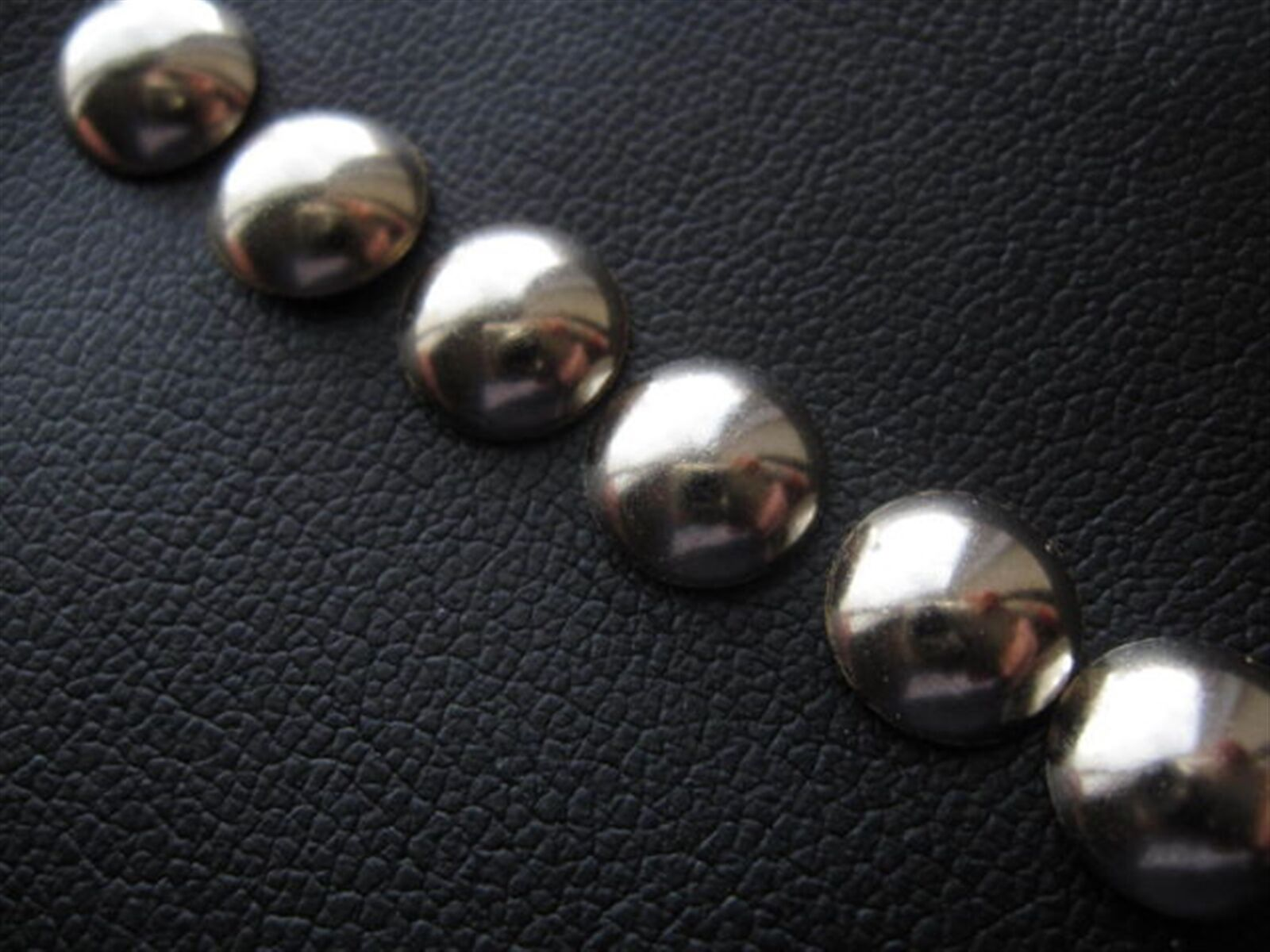 1000 small 6mm UPHOLSTERY NAILS CHROME STUD nickel tack