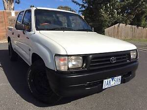 1998 Toyota Hilux Ute  AUTOMATIC TRANSMISSION Heidelberg Heights Banyule Area Preview