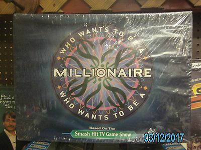 "Who Wants To Be A Millionaire NEW-Sealed ""Pressman"" X00YU43XR Complete-$3 OFF"