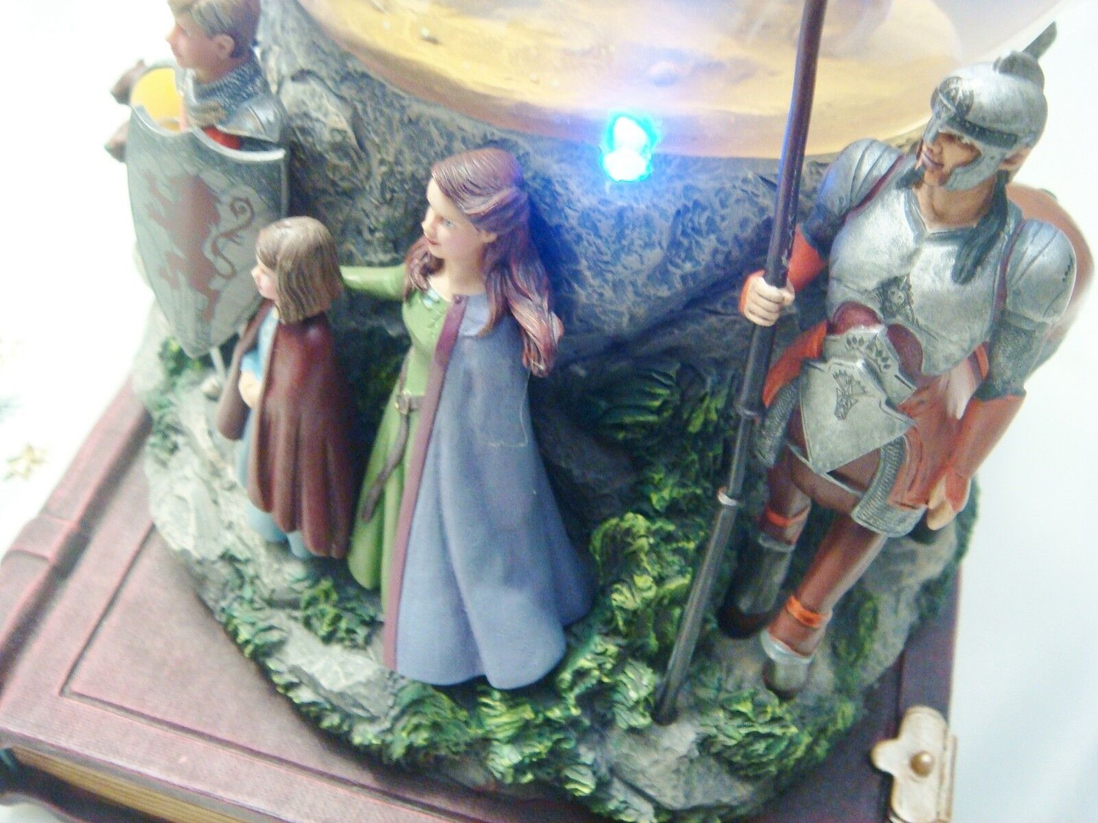 The Chronicles of Narnia Snow Globe by Disney Musical box lights