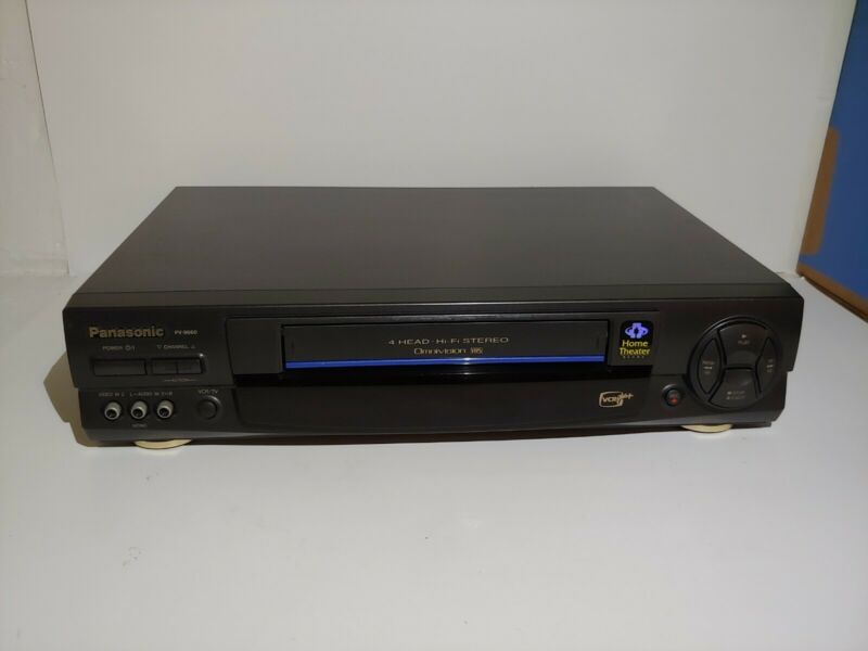 Panasonic Pv-9660 VCR plus+ home theater ready. Comes with RCA cables