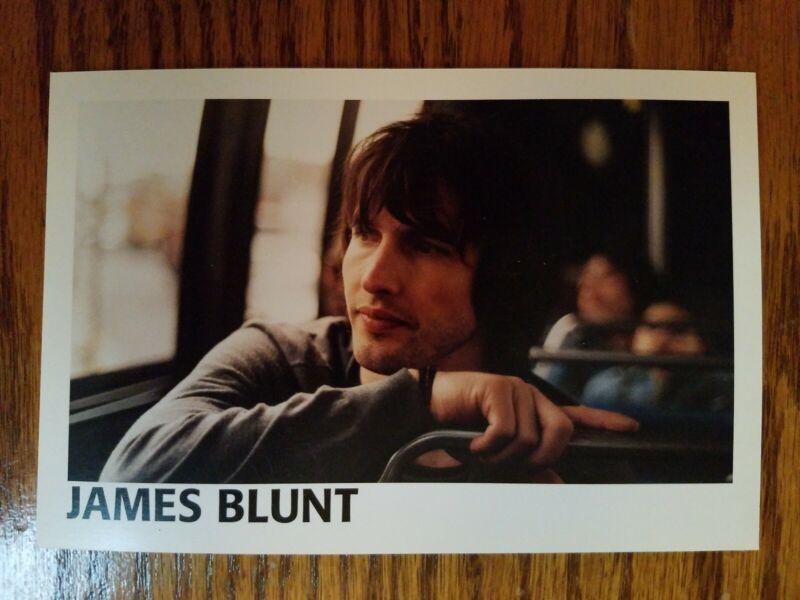 JAMES BLUNT promo postcard YOU