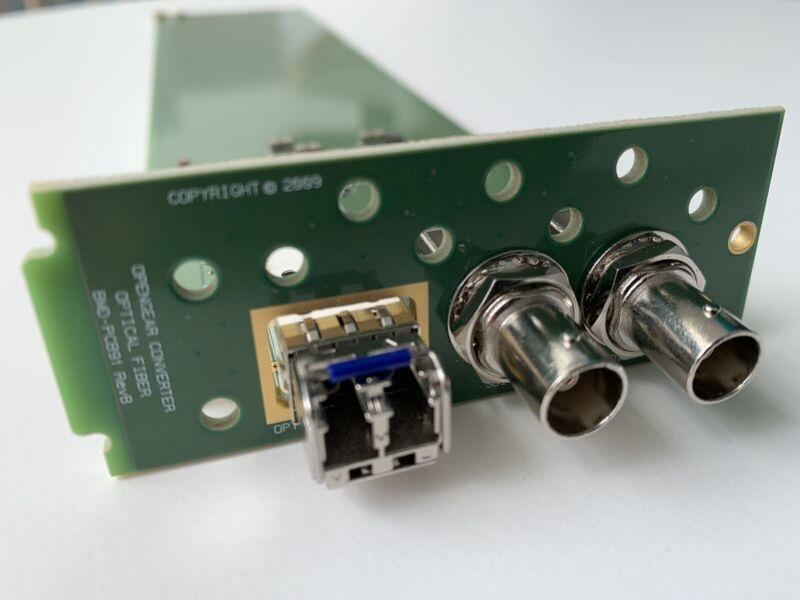 Blackmagic Design : OpenGear Converter : Optical Fiber Module : Fiber to SDI