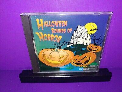 Terrifying Halloween Sounds (Halloween Sounds Of Horror-Terrifying Sound Effects Halloween Fun CD)