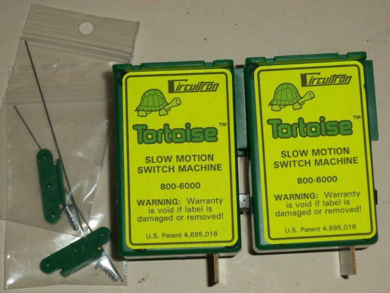 CIRCUITRON TORTOISE 800-6000 2PACK SLOW MOTION SWITCH MACHINE