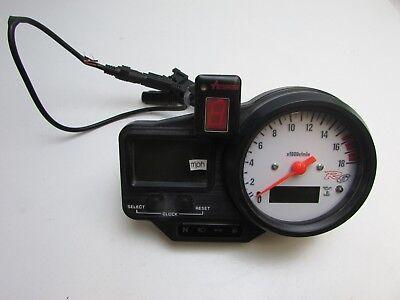<em>YAMAHA</em> YZF R6 5EB 1999 2000 SPEEDO CLOCKS  ACUMEN GEAR INDICATOR 3102
