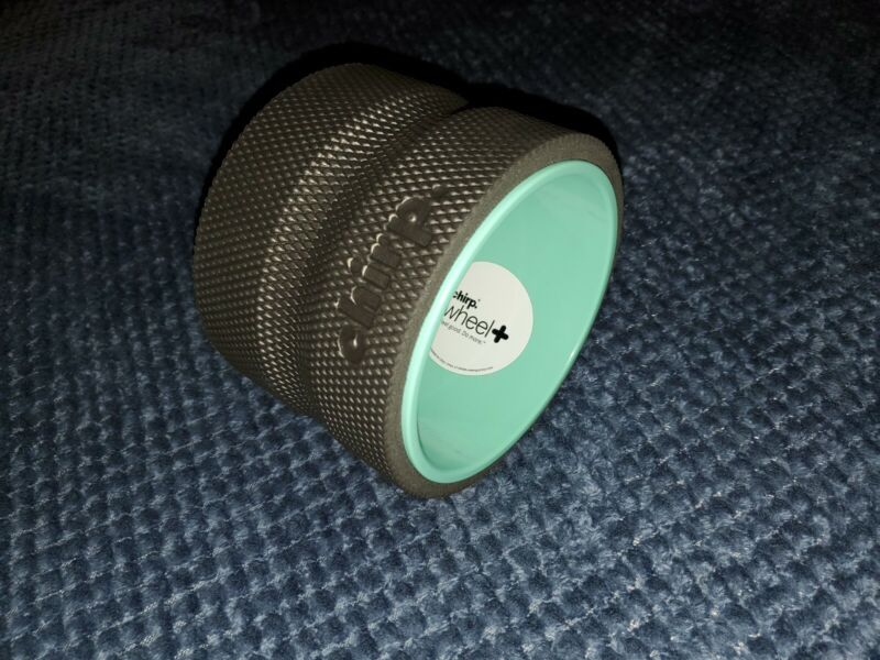 """New Small 6"""" Chirp Wheel + Spine Back Yoga Wheel+ Deep Tissue Fast Shipping"""