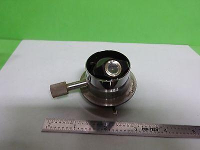 Microscope Leitz Wetzlar Germany Condenser Vintage Optics As Is Bin2b-e-06