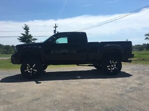 Lifted GMC Sierra for sale