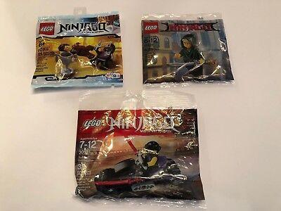 Lego Ninjago Movie polybag Lot (3) Toys R Us - Brand New Sealed -US Shipper
