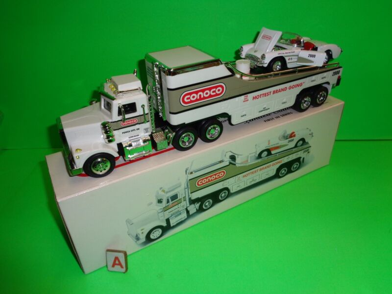 Taylor Made Trucks TMT CONOCO OIL 57 CHEVY CORVETTE CAR CARRIER Tractor Trailer