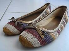 Ballet Type Shoes with Patterned Weave Ashfield Ashfield Area Preview