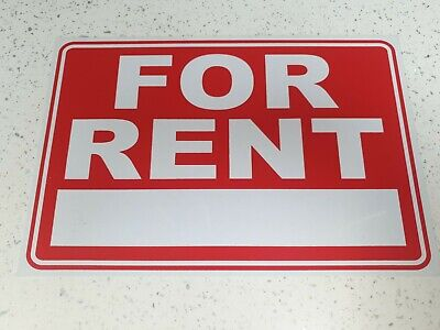 A4 SIZE FOR RENT Price Pricing FOR SALE Sign Board Plastic Card Display Bargain