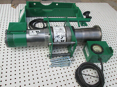 Greenlee Ultra Tugger 6800 Cable Puller With Force Gauge And Floor Mount 6800