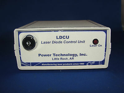Power Technology Laser Diode Control Unit Model Ldcu127918 New