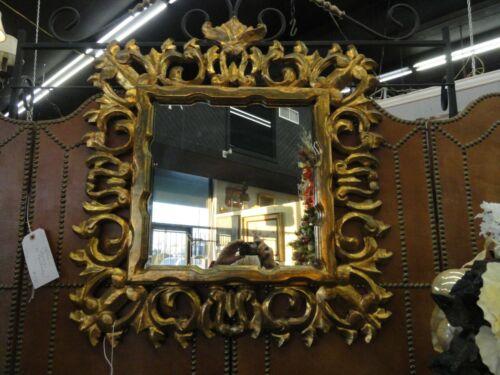 Gilt Wood Carved Mirror