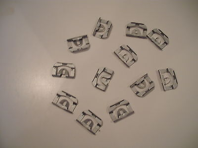 Chevrolet El Camino Front & Rear Window Trim Clips (12ct) 1973-87 Free Shipping