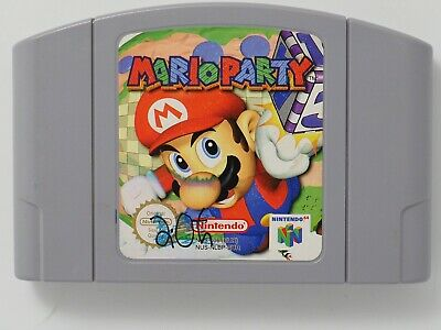 Mario Party for Nintendo 64 N64 PAL *100% GENUINE* CART ONLY Aust. Seller