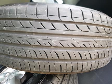 Near new tyres