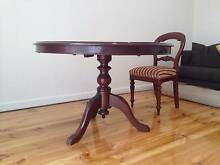 Antique Table and 4 Chairs Hawthorn Boroondara Area Preview