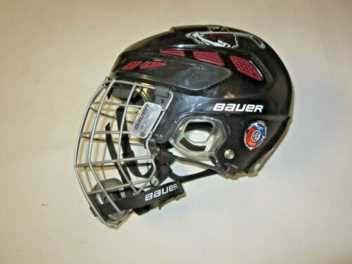 BAUER MENS LARGE IMS 7.0 HOCKEY HELMET METAL FACE CAGE 58cm to 63 cm 7+1/4 7+7/8