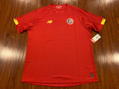 2019-20 Men's New Balance Costa Rica Home Soccer Jersey Extra Large XL image