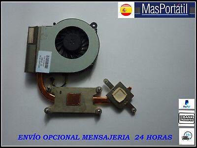 VENTILADOR+DISIPADOR/FAN HP COMPAQ PRESARIO CQ56 CQ62 G62 P/N: 609229-001 segunda mano  Embacar hacia Argentina