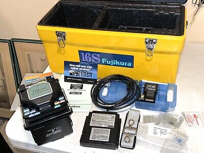 Fujikura Ftth High Speed Fsm 16s Fiber Fusion Splicer Low Arc Count 181