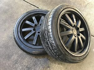 5x112 vw 18 inch rims and tires