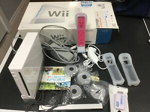 Wii with Balance board and Games