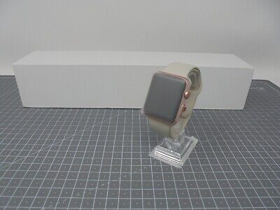 Genuine Apple Watch 7000 Series - 42mm Rose Gold with Stone Strap - MM70RG