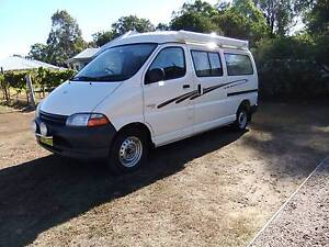 2001 Toyota Hiace SBV Pop Top Camper Cessnock Cessnock Area Preview
