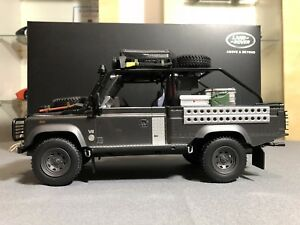 "Kyosho - Land Rover Defender ""Tomb Raider"" Resin Model Car 1:18"