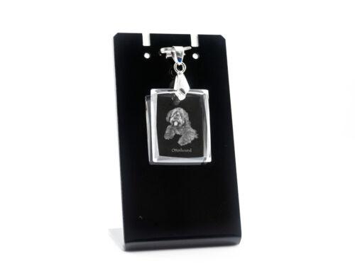 Otterhound, Dog Crystal Necklace, Pendant, High Quality, Crystal Animals CA