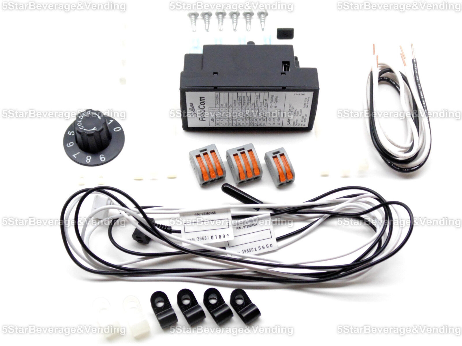 new true 991224 electronic cold control thermostat kit replaces same day shipping if payment is received by 12pm pacific time