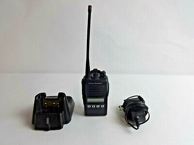 Vertex Standard Vx-354-ag7b-5 16-channel Portable 2-way Radio W Base And Charger