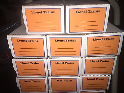 TOY TRAIN STORAGE BOXES - 25 QTY - NEW - GREAT FOR 6464 (Great Toy Train)