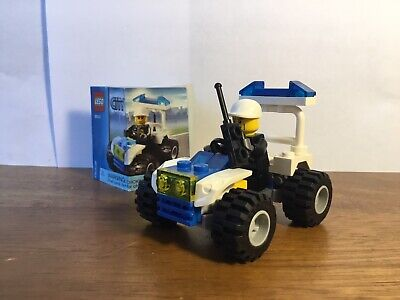 Lego City 30013 Police Quad 100% Complete W/ Instructions